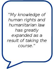 Testimonial by course participant