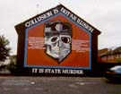 A mural on the streets of Belfast