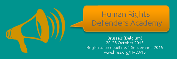 Human Rights Defenders Academy 2015