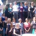Deelnemers aan Wereldburgerschap cursus, juni 2015