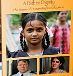 "The cover of ""A Path to Dignity: The Power of Human Rights Education"" © OHCHR Photo/Christine Wambaa"