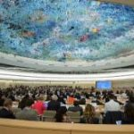 UN Human Rights Council in Palais des Nations