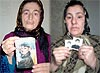 Portrait of 'disappeared' in Chechnya © Human Rights Watch