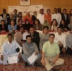 Participants at the workshop in Tunis, 23-27 April 2007